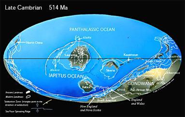 Maps of continental Drift
